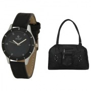 Evelyn Wrist Watch With hand Purse-LBBR-272-010