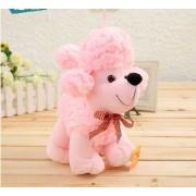 Cute Stuffed Pink Baby Poddle Dog Plush Animal Soft Toy