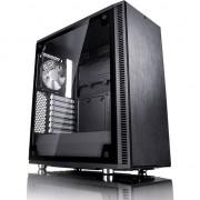 Carcasa desktop fractal design Definiti C TG, negru (FD-CA-C-DEF-BK-TG)
