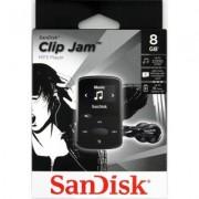 SanDisk Odtwarzacz MP3 Sansa Clip Jam 8GB Czarny