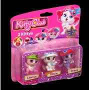 Set 3 trei figurine - Lauren Olivia Grace - Kitty Club