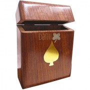Danii Wooden Family Board Game - Poker Card Box
