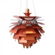 Poul Henningsen hanglamp Artisjok lamp 56cm koperrood