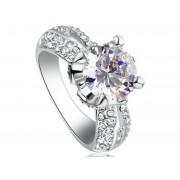 Egyedi szintetikus gyémánt gyűrű 201-8