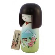 Japonská panenka Kokeshi Nihonbare 16 cm