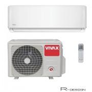 Klima Vivax ACP-24CH70AERI, inverter, hlađenje: 7.03kW, grijanje: 7.91kW, split, zidni, vanjska+unutarnja