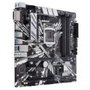Дънна платка Asus PRIME Z390M-PLUS, Z390, LGA1151, DDR4, PCI-Е (HDMI&DVI)(CFX), 4x SATA 6Gb/s, 2x M.2 sockets, 2x USB 3.1 Gen2, 4x USB 3.1 Gen1, mATX
