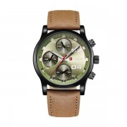 Ceas casual barbatesc Curren Quartz 8207-3, verde