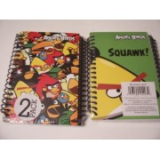 Angry Birds 2 Pack Spiral Notebooks By Mead (Angry Bird Town Hall, Squawk)