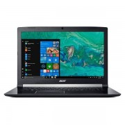 "Acer Aspire 7 A717-72g-74zn Notebook 17.3"" Intel Core I7-8750h Ram 16 Gb Hdd 100"