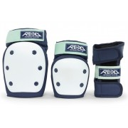 REKD Heavy Duty Triple Pad Blue/Mint - S