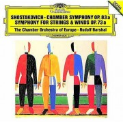 PID Chostakovitch: Sym For Strings & Woodwind Op 73a [CD] Usa import