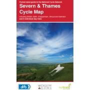 Fietskaart 11 Cycle Map Severn & Thames | Sustrans
