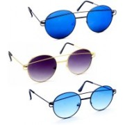 Stacle Rectangular Sunglasses(Multicolor)