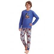 Pijama băieți Miloș albastru închis 146