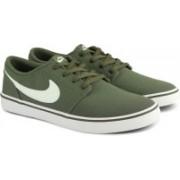 Nike SB PORTMORE II SOLAR CNVS Sneakers For Men(Green)