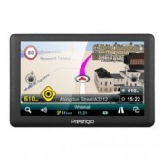 "Prestigio GeoVision 5066, навигация за кола, 5"" (12.7 cm) TFT сензорен дисплей, 128MB RAM, 4GB Flash памет(+microSD слот), без инсталирана карта"