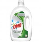 Detergent Lichid pentru Rufe OMO Ultimate Fresh Clean, 38 Spalari, Cantitate 1.9 L, Parfum Fresh, Detergent Lichid pentru Haine, Solutii Curatare Haine, Detergent Rufe Lichid, Detergent Lichid Rufe OMO