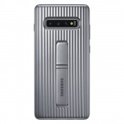 Samsung Protective Standing Cover Galaxy S10+ - Silver