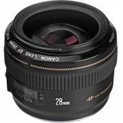 Refurbished-Very good-Canon EF 28mm f / 1.8 USM Lens Black