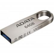 Memoria USB 64GB 3.1 ADATA UV310 Flash Drive Metalica Uso Rudo AUV310-64G-RGD