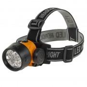 Lanterna frontala Vipow, 17 LED-uri, 3 trepte de iluminare