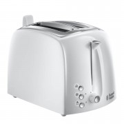 Russell Hobbs 22600 Textures 2 Slice Toaster - White