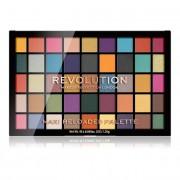 Revolution Paletă - 45 umbre de ochi în nuanțe strălucitoare și mate Maxi Reloaded Palette Dream Big 60,75 g