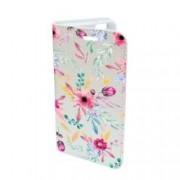 Husa Flip Cover Book Case Design 69 Flori Multicolor Samsung Galaxy S7 Edge