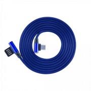 Kabl USB 2.0 na USB-C M/M S-box ugaoni, plava 1.5m