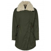 ONLY Oversized Parka Dames Green / Female / Green / S