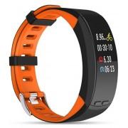 Deveroux Deveroux P5 GPS fitness náramek - oranžový