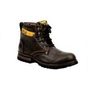Shooz Mens Black Lace-Up Boot