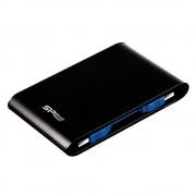 Silicon Power Armor A80, Hard Disk Portabil, 1TB PHD, Negru