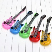 Kids Air Inflatable Guitar Show Prop Toys Music Dream