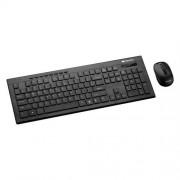 Canyon CNS-HSETW4-CS, Wireless bezdrôtové combo - multimed. klávesnica SK/CZ klávesy + opt. myš 800/1200/1600 dpi,