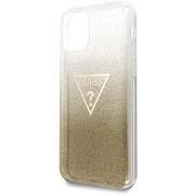 Guess Solid Glitter iPhone 11 készülék Gold (EU Blister)