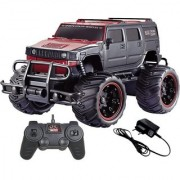 Road Monster Racing Car Remote Control 120 Scale Black (Black)