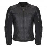 Férfi Bőr Motoros Kabát W-TEC NF-1121 13616/fekete
