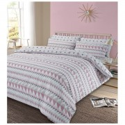 Dreamscene Rewind Duvet Set - Blush - Double
