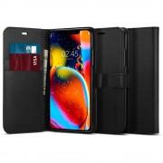 Spigen Knížkové pouzdro na iPhone 11 - Spigen, Wallet S Black