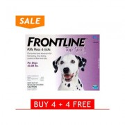 Frontline Top Spot Large Dogs 45-88lbs (Purple) 4 + 4 Free