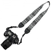 Stookin National Wind Cotton Shoulder Neck Stripe Strap Belt For Panasonic Sony Nikon Canon SLR DSLR Camera