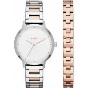 DKNY Ladies Modernist Watch and Bracelet Gift Set
