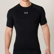 Camiseta Under Armour Compressão HG SS Brasil