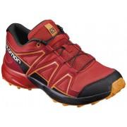Salomon Speedcross - scarpe trekking - bambino - Red/Black