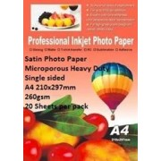 E-Box Satin Photo Paper- Microporous Coated Heavy