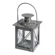 Mécsestartó lámpás szürke 10cm ADA000260