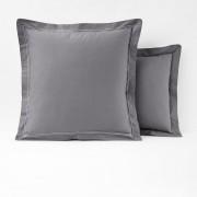 La Redoute Interieurs Fronha de almofada, percal puro algodão, PALACECinza-Escuro- 63 x 63 cm