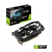 VGA Asus Dual-GTX1650-4G, nVidia GeForce GTX 1650, 4GB, do 1695MHz, 36mj (90YV0CV3-M0NA00)